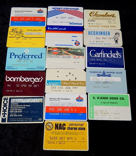Maybe you would like to learn more about one of these? Vintage Credit Cards 1970's 80's   Curiosity Consignment