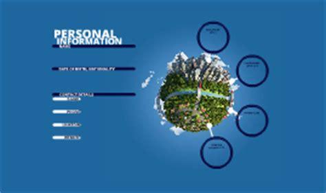 resume template by marjai on prezi