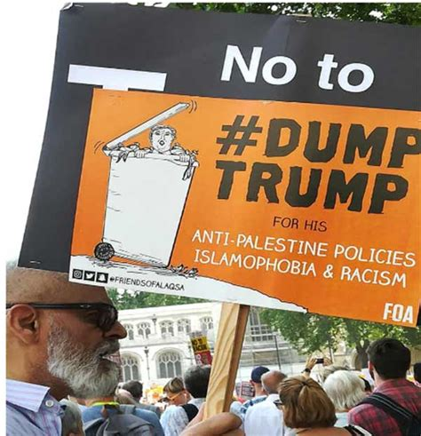 Impressions from the Dump-Trump Protest in London ...