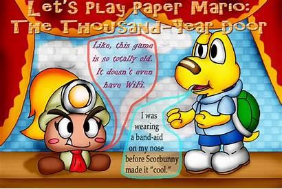 Mario Paper Thousand Door Unownace Let Play