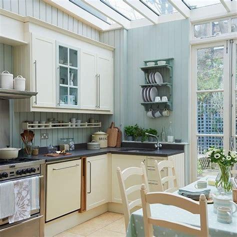 kitchen ideas colours pale blue kitchen conservatory conservatory ideas