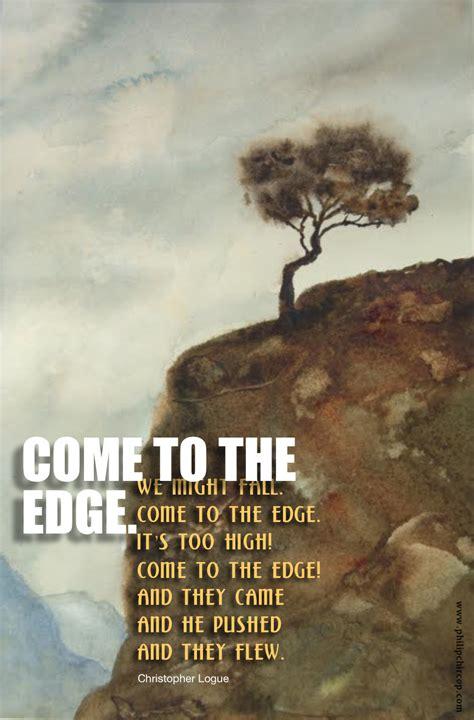 mused    edge read   short poem slowly