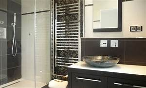 carrelage petite salle de bain - une petite salle de bains raffin e inspiration bain