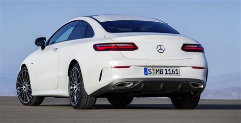 2017 Mercedes-benz E-class Coupe Revealed Ahead Of