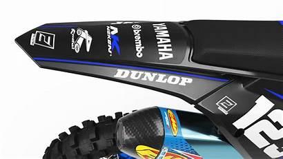 Dirt Bike Yamaha Graphics Matte Factory Kit