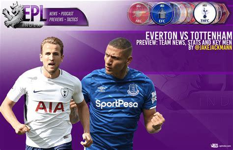 Everton vs Tottenham Match Preview   Team News, Stats ...