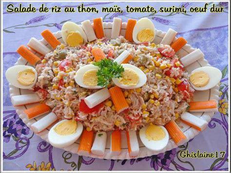 recettes de surimi  tomates