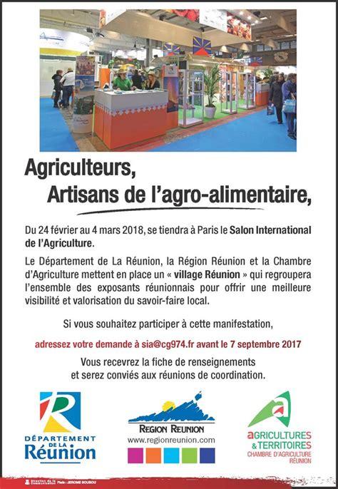 chambre agriculture 24 salon international de l 39 agriculture 2018 participation