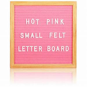 square premium felt letter board pink iwoot With cheap felt letter board
