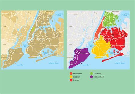 york city map   vector art stock
