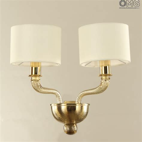 dubai wall l sconce applique 2 lights luxury