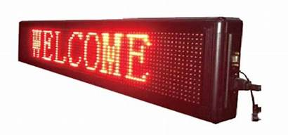Led Board Display Welcome Scrolling Area Reception