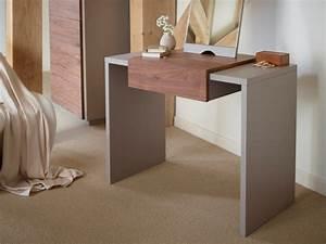 Coiffeuse En Bois Petite Fille : meuble coiffeuse console design moderne with coiffeuse pour fille en bois ~ Teatrodelosmanantiales.com Idées de Décoration