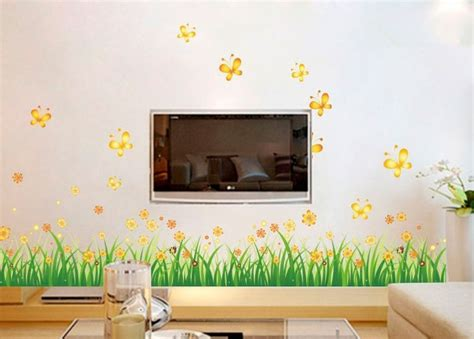 Butterfly Wall Decor Target by Removable Wall Stickers On A Wall Home Decor Flower