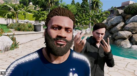Gta 5 Franklin & Michael Real Life Mod #2 🎉😎