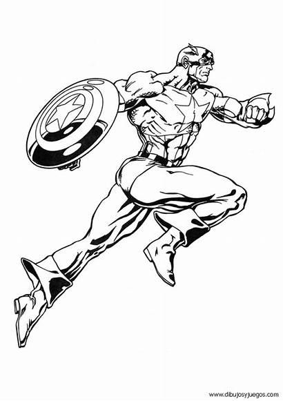 Marvel Dibujos Colorear Comic Pintar Comics Dibujo