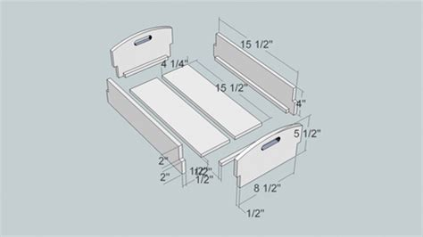 build google sketchup woodworking plans  plans