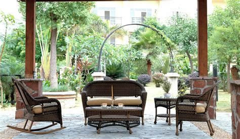 tuscany wicker glider club chairs patio renaissance