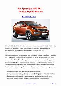Download Kia Sportage 2010