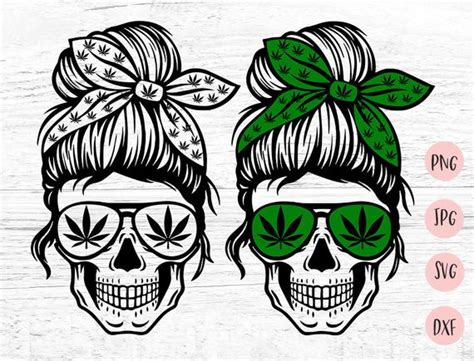 See more ideas about cricut decals, cricut, silhouette cameo projects. Weed Mom Skull svg, Messy bun skull svg, Mom life SVG ...
