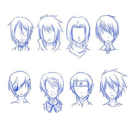 Practicing Male Hairstyles Owo Septemberice Deviantart