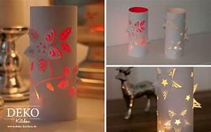 Deko Aus Papier : diy weihnachtliche 3d windlichter deko kitchen ~ Eleganceandgraceweddings.com Haus und Dekorationen