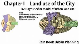 Land Use Model Hoyt And His Sector Model Of Urban Land Use By Rain Book Urban Planning