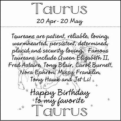 Taurus Birthday Quotes Quotesgram Zodiac Signs Birthdays