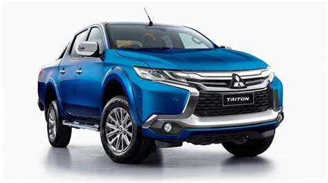 2019 Mitsubishi Triton Improved Dual Cab Tougher Than Ever