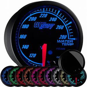 52mm Glowshift Elite 10 Color Series Water Temperature