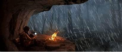 Tomb Raider Concept Animation Reborn Deviantart Rain