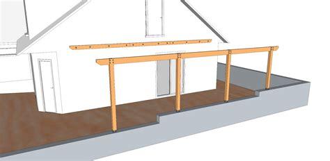 les poteaux et les pannes sont fix 233 s ensuite par des vis 224 bois d6 l90