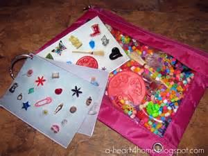 Homemade I Spy Bags