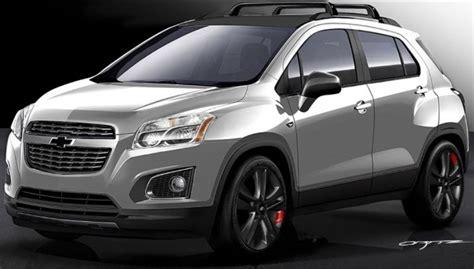 Modifikasi Chevrolet Trax by Crossover Chevrolet Trax Dimodifikasi Bergaya Racing