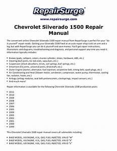 2005 Chevy Silverado 1500 Owners Manual Pdf