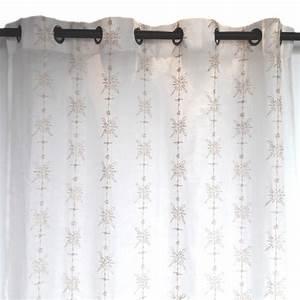 Rideau Voilage Lin : rideau voilage lin chic ~ Teatrodelosmanantiales.com Idées de Décoration