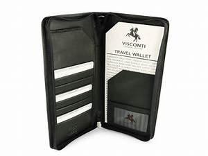 leather travel document wallettravel document holder With mens travel document holder
