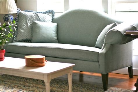 Slipcovers For Camel Back Sofa by Custom Slipcovers By Shelley White Camel Back