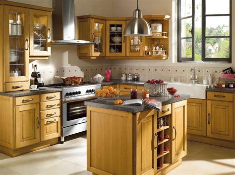 mod鑞es de cuisine modele de cuisine rustique nouveaux modèles de maison