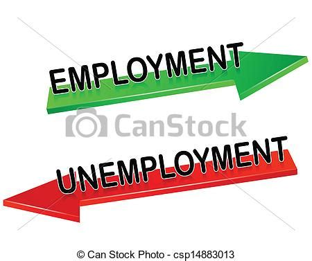 unemployment employment vector illustration csp