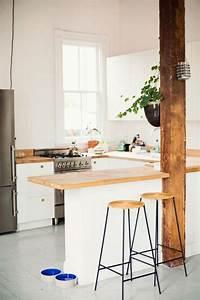 Decouvrir la beaute de la petite cuisine ouverte for Petite cuisine ouverte avec bar