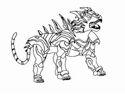 Bakugan Coloring Ausmalbilder Planet Battle Zum Kinder