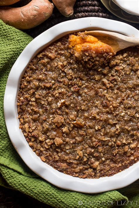 sweet potato casserole with pecan topping sweet potato casserole with pecan streusel topping best recipe ever
