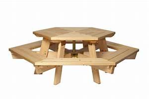 Table Exterieur En Bois : table bois exterieur l 39 habis ~ Teatrodelosmanantiales.com Idées de Décoration