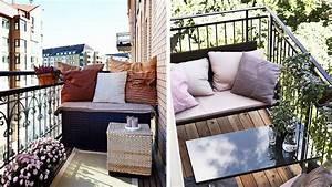Table Pour Petit Balcon : comment am nager un balcon troit ~ Melissatoandfro.com Idées de Décoration