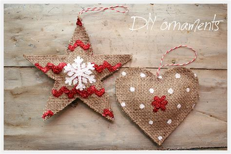 country ornament diy