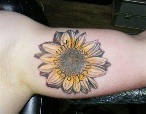 sunflower tattoos  men ideas  inspiration  guys