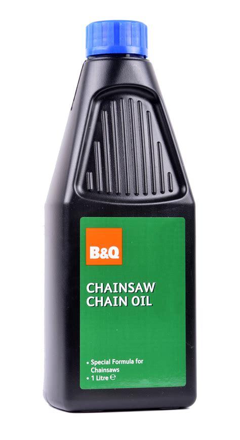 B&Q Chainsaw Oil 1L   Departments   DIY at B&Q