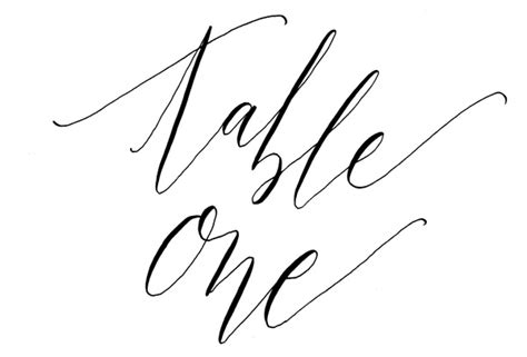 printable table numbers  flourish whim