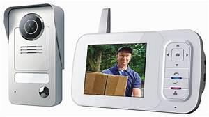 Interphone Sans Fil Legrand : interphone video sans fil smartwares vd38w ~ Edinachiropracticcenter.com Idées de Décoration